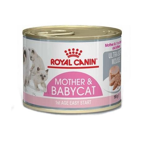 Royal Canin ROYAL CANIN Консервы для котят в период отлучения до 4 месяцев и для кошек в период лактации Mother&Babycat 195 гр.