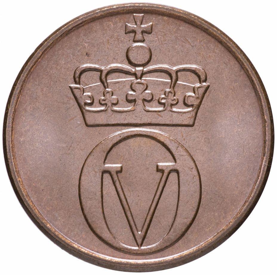 2 эре. Глухарь. Норвегия. 1971 год. UNC