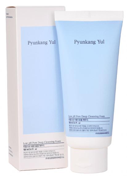 Pyunkang Yul Low pH Pore Deep Cleansing Foam очищающая пенка для лица 100мл