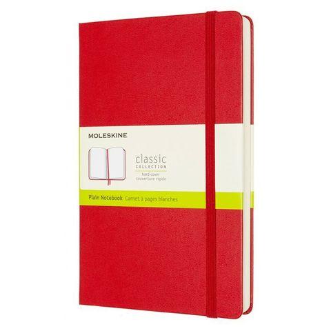 Блокнот Moleskine Classic Expended QP062EXPF2 Large 130х210мм 400стр. нелинованный твердая обложка красный