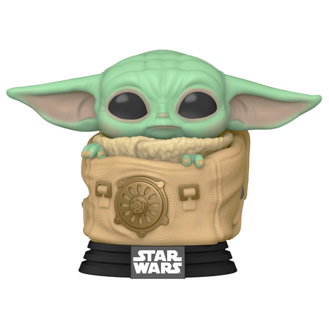 Фигурка Funko POP! Bobble: Star Wars: Mandalorian: Child w/ Bag 50963