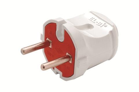Вилка электрическая для подключения вентиляторов