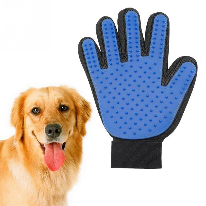Товары для животных Перчатка для вычесывания шерсти True Touch (Тру Тач) True-Touch.jpg