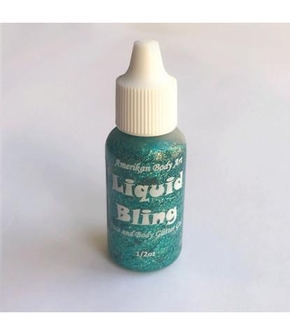 Блестки-линер Liquid bling бирюзовые Atlantis 15 ml