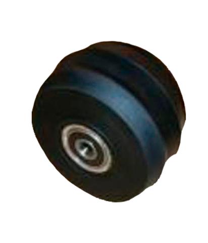 Колесо переднее для лыжероллеров классических Maplus 70х45 мм с подшипником