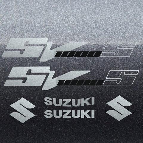 Набор виниловых наклеек на мотоцикл SUZUKI SV 1000S 2007