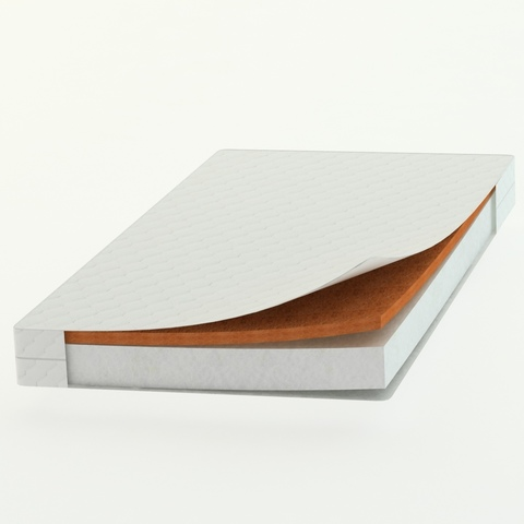 Матрас прямоугольный 160х80х11см (Холкон 8см/Бикокос 3см)
