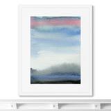 Marina Sturm - Репродукция картины в раме Evening sky over the lake