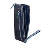 Клатч Piquadro Blue Square из телячьей кожи (AC2648B2/BLU2)