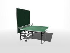 Теннисный стол влагостойкий на роликах WIPS СТ-ВР (61040)