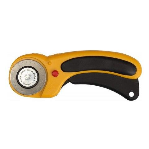 Нож OLFA с круговым лезвием, с пистолетной рукояткой, фиксатор, 45мм