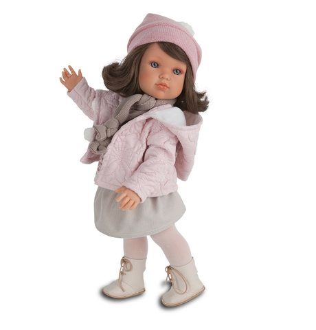 Munecas Antonio Juan Кукла Белла в зимнем наряде, 45 см (2805P)