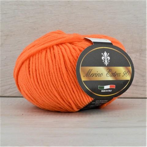 Пряжа Merino Extra 90 (Мерино экстра 90) Оранжевый