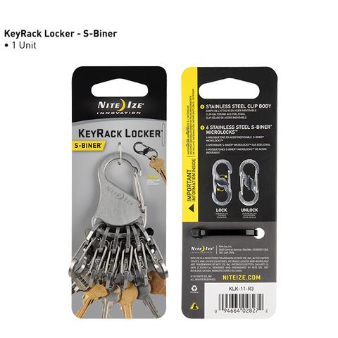 Брелок для ключей Nite Ize KeyRack Locker