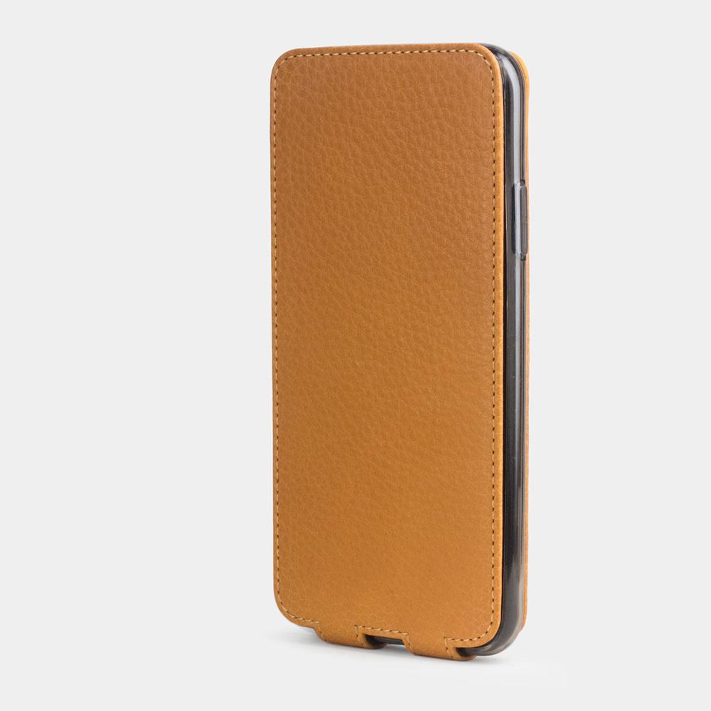 Чехол для iPhone 11 Pro из натуральной кожи теленка, цвета золота