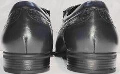 Свадебные мужские туфли из натуральной кожи Ikoc 3805-4 Ash Blue Leather.