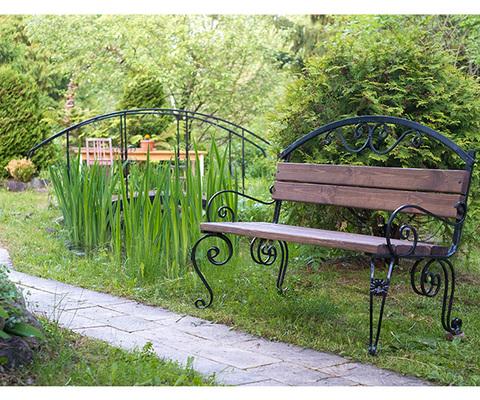 Садовая скамейка Praga Lux 1,2 метра