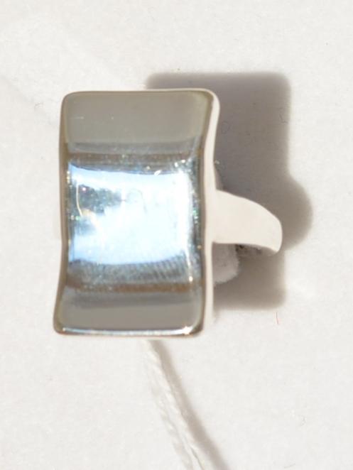 Волна-прямоугольник (кольцо из серебра)