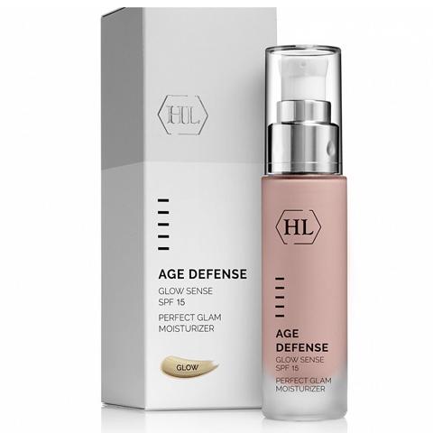 Holy Land Age Defense: Крем для лица с декоративным эффектом (Glow Sense SPF 15)