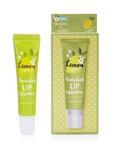 Welcos Around me enriched lip essence Lemon эссенция для губ. Лимон.