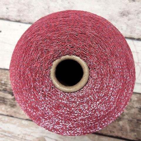 Резинка со светоотражением красно-серый