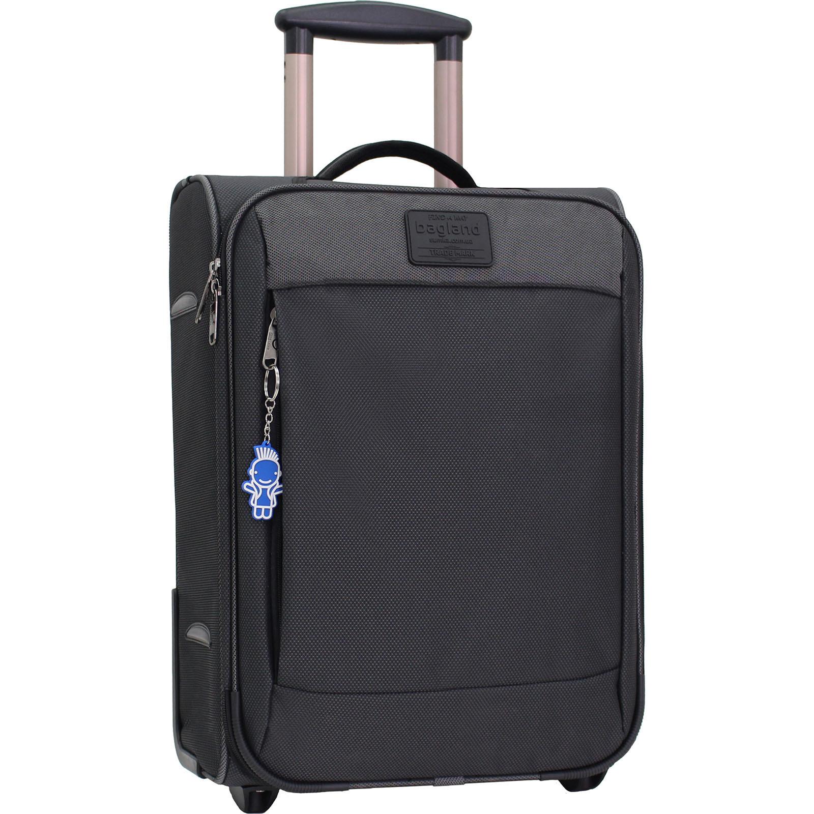 Дорожные чемоданы Чемодан Bagland Vichenzo 30 л. Чёрный (0037616919) IMG_1351.JPG