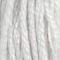 Нитки  мулине DMC хлопок Жемчужно-серый светлый 01