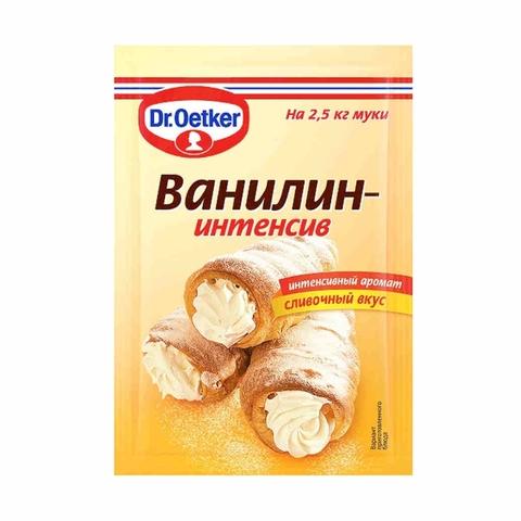Ванилин Dr`Oetker Интенсив Сливочный вкус 2 г РОССИЯ