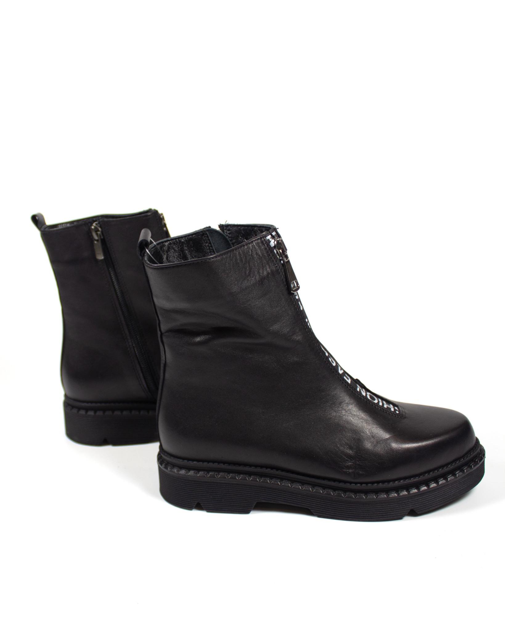 черные ботинки Maria Esse