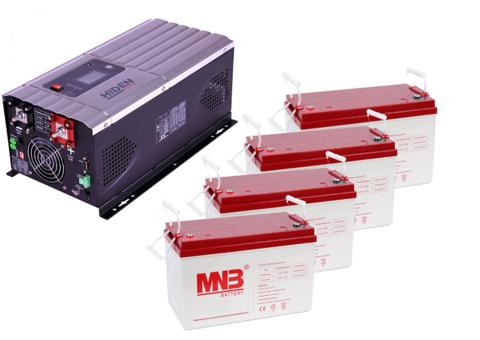 Комплект ИБП HPS30-6048-АКБ MM100 (48в, 6000Вт)