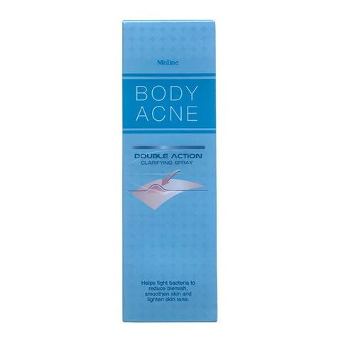 Спрей очищающий от Акне на теле, Mistine Body Acne Double Action Clarifying Spray, 50 мл.
