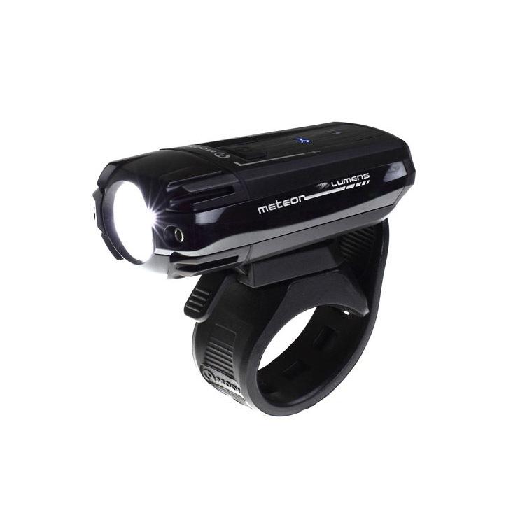 Фонарь передний Moon METEOR 250 1 диод 3 реж.USB 250 лм