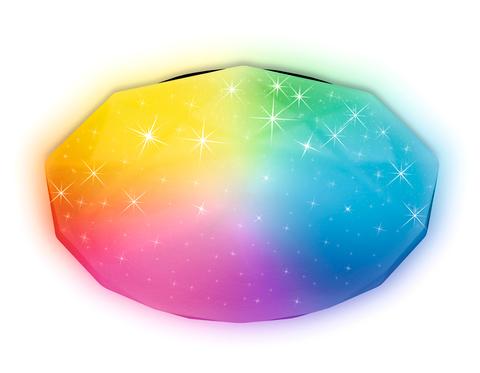 Светодиодный светильник Ambrella FF417 WH 60W Белый c подсветкой RGB