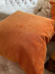 Подушка диванная квадратная Оранж
