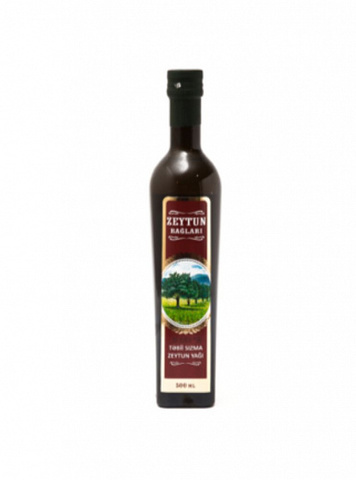 Zeytun yağı \ Оливковое масло \ Olive oil Zeytun bağları təbii sızma 0.5 L
