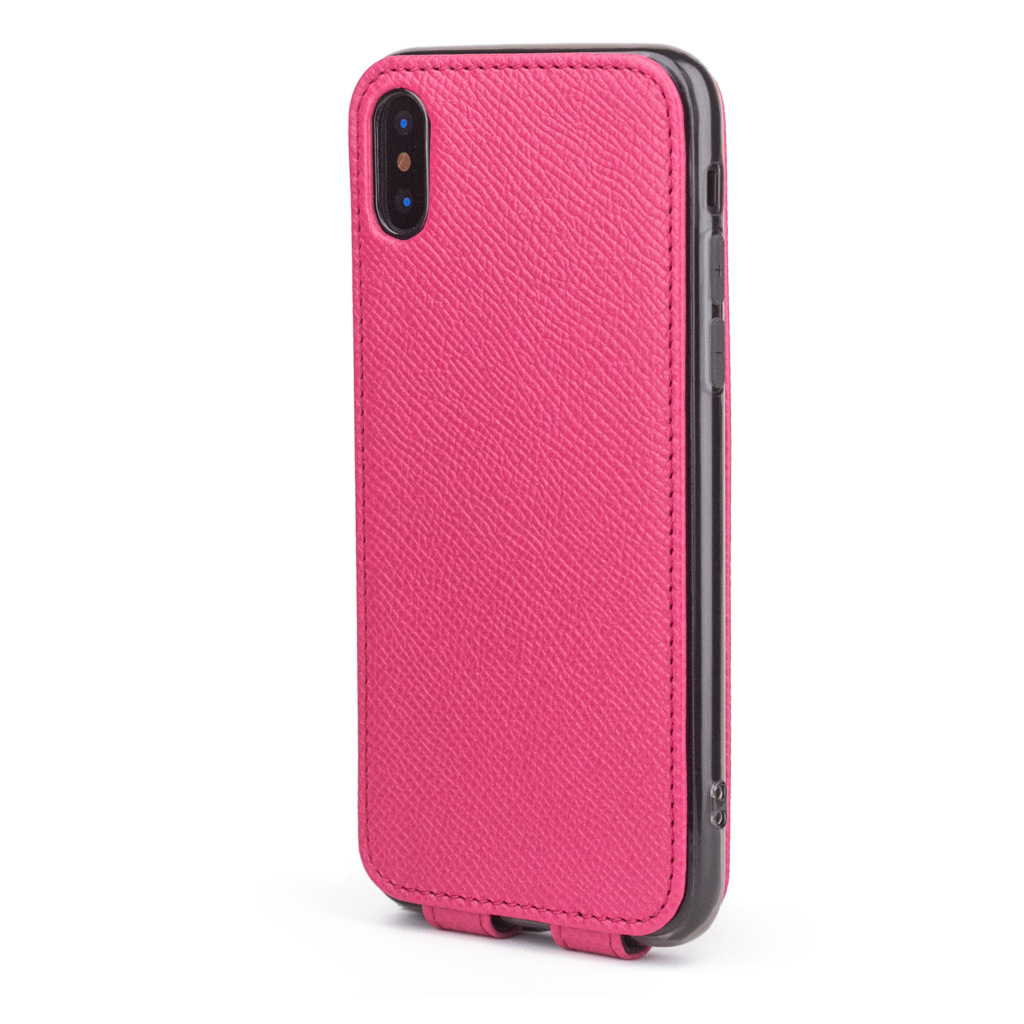 Case for iPhone X / XS - pink fluo