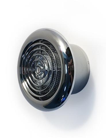 Накладной вентилятор MMotors JSC MM-100 LUX Chrome (хром)