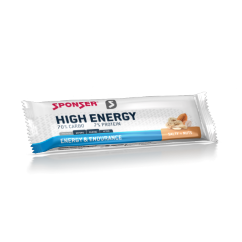NEW! Sponser High Energy Bar Энерджи Бар Ягода, 30*45 гр