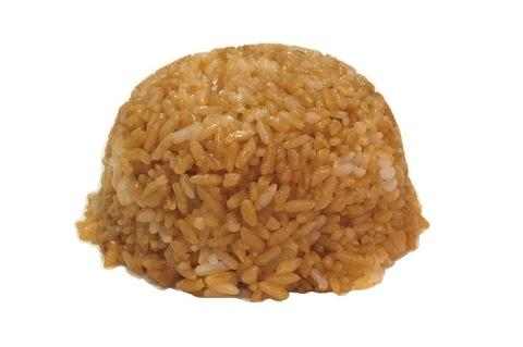 Рис жареный с чесноком