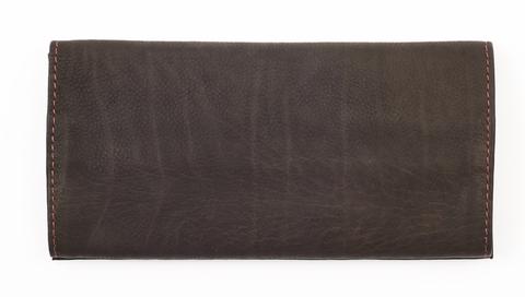 Кожаный тройной кисет для табака Zippo, коричневый123