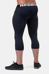 Мужские укороченные леггинсы Nebbia Legend of Today leggings calf length 188 black