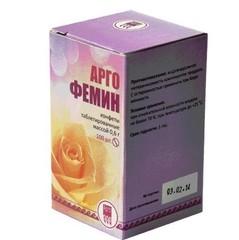 Конфеты таблетированные с растительными экстрактами Аргофемин