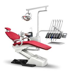 WOD730 стоматологическая установка с верхней подачей инструментов Woson