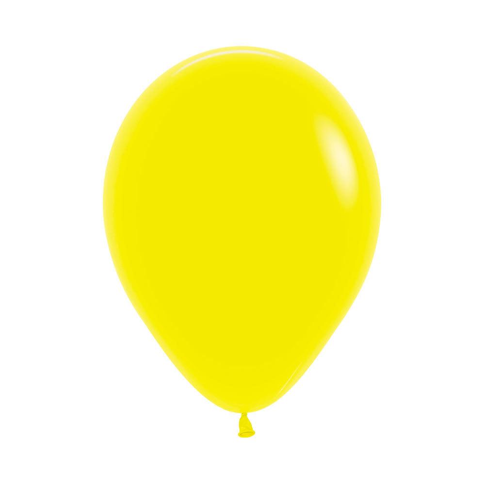 Латексный воздушный шар, желтый пастель