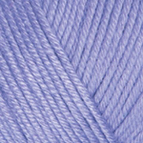 Пряжа Baby Cotton (Бэби Котон) Лаванда. Артикул: 417
