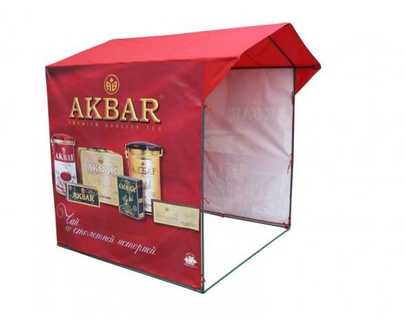 Торговая палатка Митек Домик 2,5x1,9 Ø18 мм
