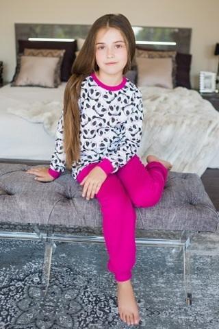 ПЖ42 Пижама для девочки (байка)