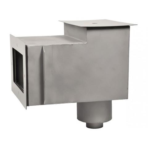 Скиммер нержавеющая сталь AISI-304 с удлиненной горловиной подключение 1 1/2