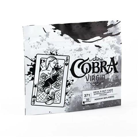 Кальянная смесь Cobra VIRGIN Дьявольский пирог с орехами (Devil's Nut Cake) 50 г