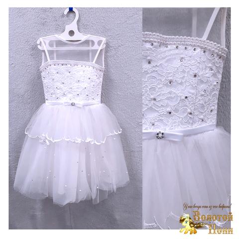 Платье на корсете девочке (4-5) 201204-ТР7754